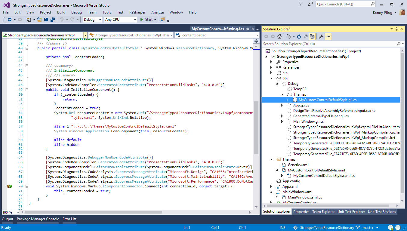 Stronger-Typed Resource Dictionaries in XAML – feO2x Programming